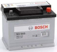 BOSCH Batterie 12 V 56 AH LxBxH 242 x 175 x 190 - +