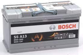 Batterie AGM 12 V 95 AH LxBxH 353 x 175 x 190 - +